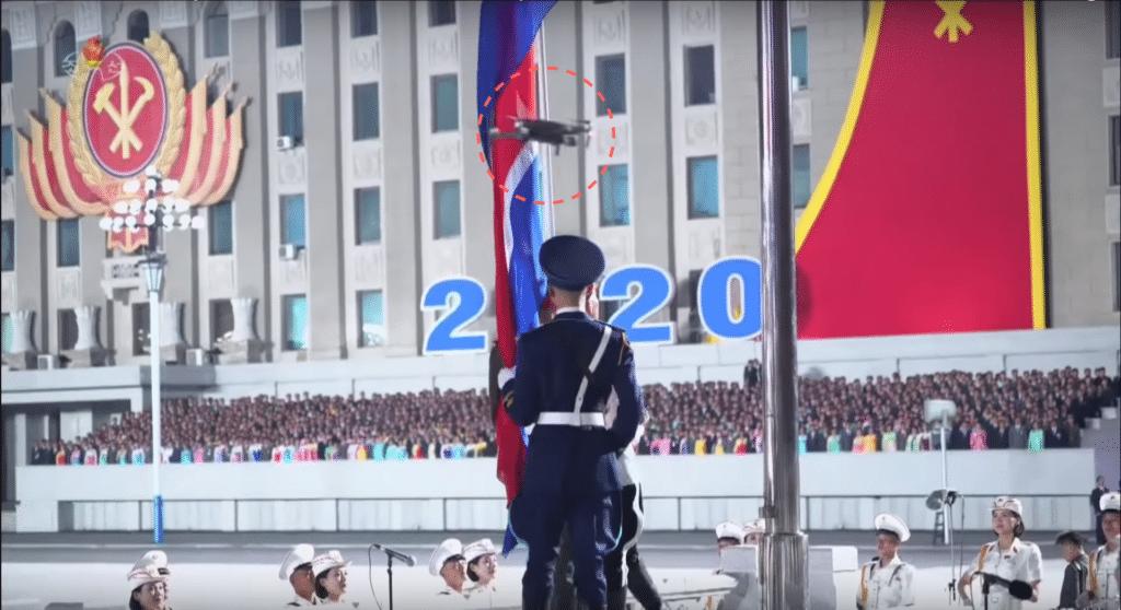 北韓閱兵儀式出動無人機協助直播 到底是哪架航拍機被選中?