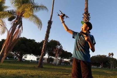 創下最年輕無人機製圖師世界紀錄 加州 14 歲少年:這不是結局